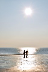 Anonymous Couple (Arjen van der Broek) Tags: winter panorama sun cold beach netherlands scenery zeeland scene winterday dishoek platinumheartaward arjenvanderbroek