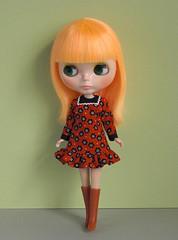 yoke dresses red