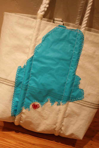 My custom Sea Bag for the wedding