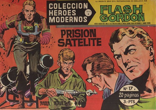 007--Flash Gordon nº17-coleccion Heroes Modernos-Editoria Dolar-portada