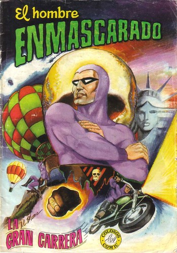 024-El hombre enmascaradao nº1- Edit. Valenciana-Colosos del Comic.1980-portada