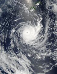 Tropical Cyclone Wilma off Fiji