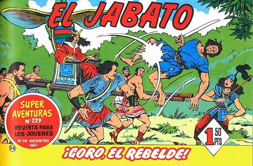 020-El Jabato nº 58-edicion 1958-portada