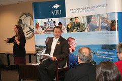 AFN Chief Shawn Atleo speaks to students acros...