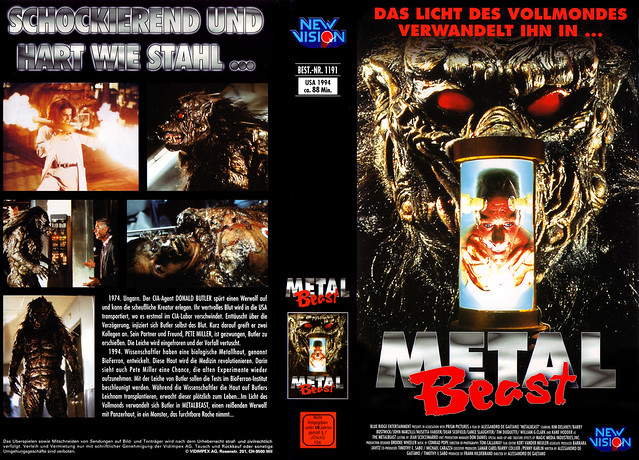 Metal Beast (VHS Box Art)