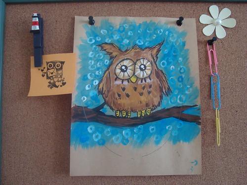 Owl of Wisdom?