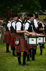 PIpeband (FotoFling Scotland) Tags: event highlandgames scotland strathmorehighlandgames angus athlete glamis glamiscastle kilt piperband scottish
