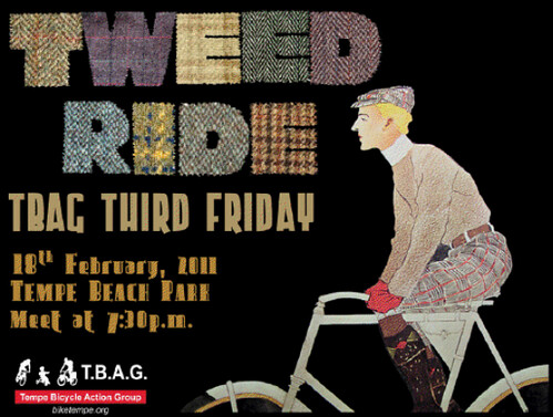 Tweed Ride Flyer 2/18
