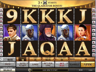 Gladiator slot game online review