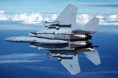 [フリー画像] 乗り物, 航空機, 戦闘機, F-15 イーグル, アメリカ空軍, 201102212300