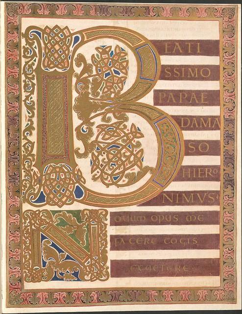 Evangeliar (Codex Aureus) - BSB Clm 14000 a