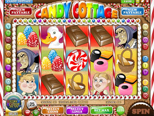 Candy Cottage slot game online review
