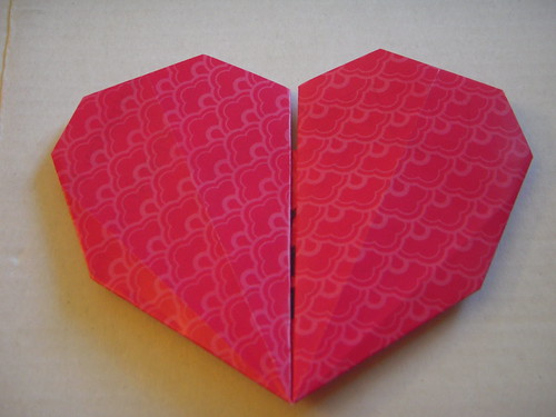 Origami #32: Secret Message Heart