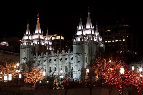 Salt Lake City, UT - Xmas lights