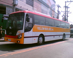 Yellow Bus Line Inc. (Bus Ticket Collector) Tags: bus pub philippines davo hyundai mindanao malinta nlex husl ybl pbpa yellowbusline hyundaiuniversespaceluxury philippinebusphotographersassociation