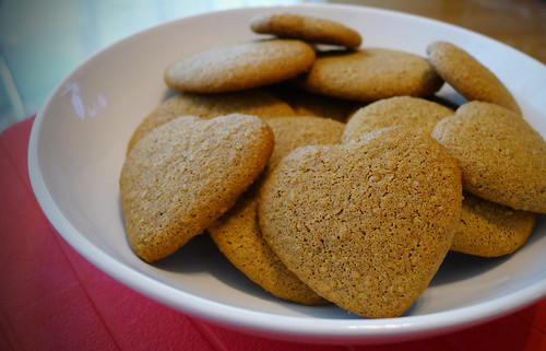 Ginger Flax Cookies