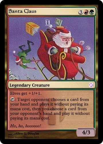 Merry Christmas Santa Claus Edh Multiplayer Commander