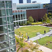 Klaus Advanced Computing Building and Atlanta skyline