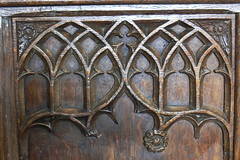 Wood tracery Shotteswell