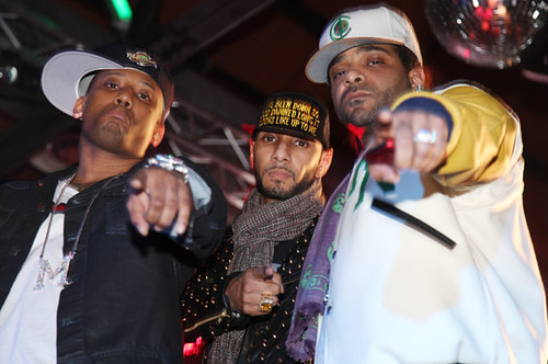 We Keep It Rockin video shoot - Maino feat. Swizz Beatz