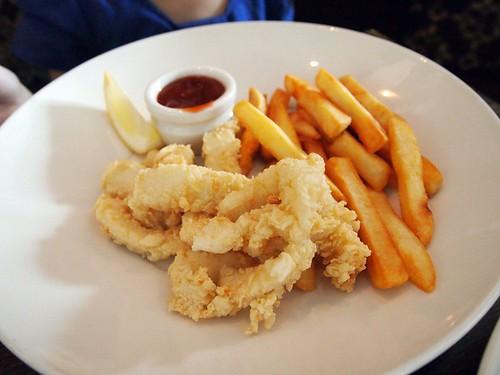 Calamari&chips