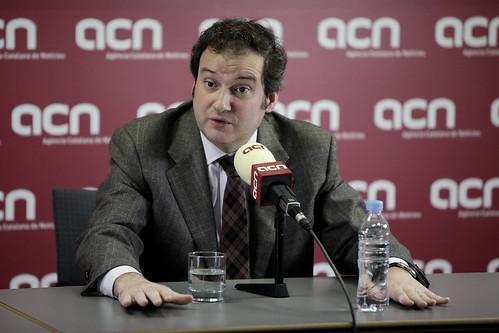 Jordi Hereu a l'ACN. Primàries BCN