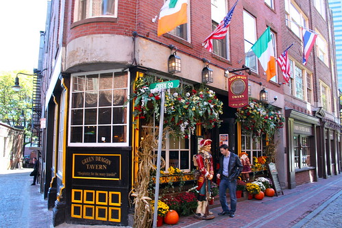 Green Dragon Tavern, Boston