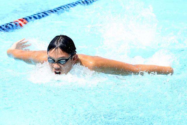 dexamethasone shot and swim meet