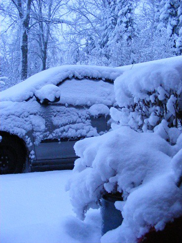 Snö 2 liten