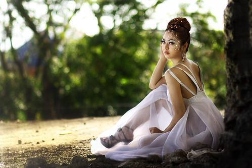 フリー写真素材, 人物, 女性, アジア女性, ドレス, フィリピン人,