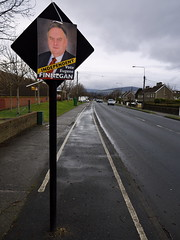 Independent candidate's poster tied to the back of a road sign that's in the middle of a cycle lane (turgidson) Tags: road ireland irish studio poster lens four lumix election raw general g politics kitlens panasonic eugene developer independent micro pro g1 candidate kit wicklow asph bray dmc finnegan mega thirds converter dail generalelection ois vario eireann 2011 m43 silkypix 1445mm f3556 electionposter boghall boghallroad dil ireann 41412 dilireann microfourthirds panasoniclumixdmcg1 panasonicg1 panasoniclumixgvario1445mmf3556asphois hfs014045 silkypixdeveloperstudiopro41412 p1170429 eugenefinnegan