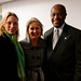 Moi, Congresswoman Renee Elmers, and Herman Cain