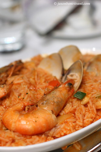 Baked Seafood Rice