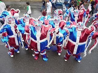 Diablos Cojuelos En el Carnaval de Bonao -1