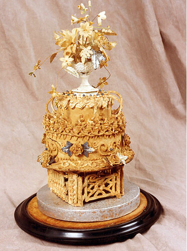 oldest wedding cake