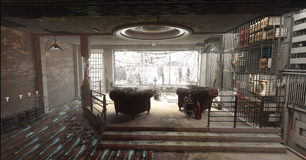 Interior Concept Render 04