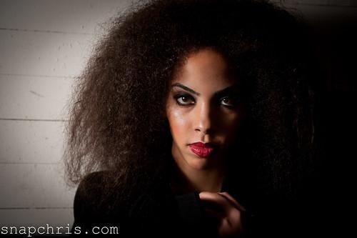 Andrinea Murphy : Beautiful African American Hawaiian model portrait