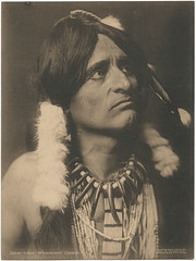 Hen-Tah Wyandot Chief. (SMU Central University Libraries) Tags: indians chiefs americanindians uswest monomonday