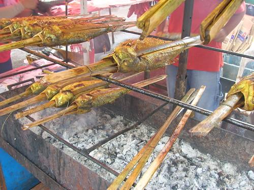 Grilled Fish, Miri Malaysia