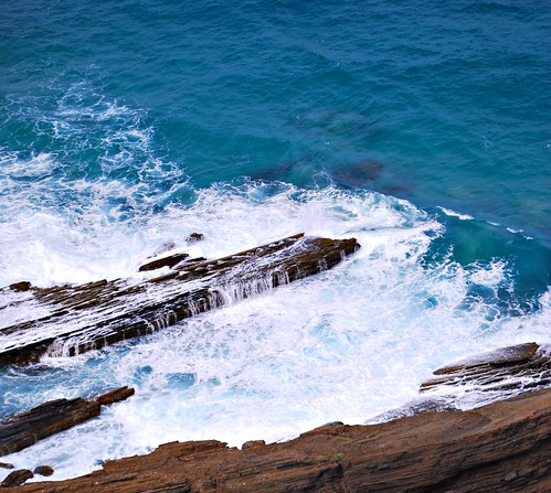 Waves Below Lighthouse