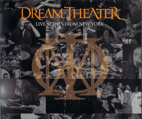 Dream Theater Live Scenes From New York (Edited Art)