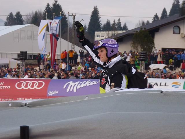 Maria Riesch beim Riesenslalom