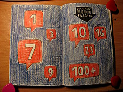 Time passing (saturdayfish2) Tags: this journal smith keri wreck wtj kerismith wreckthisjournal