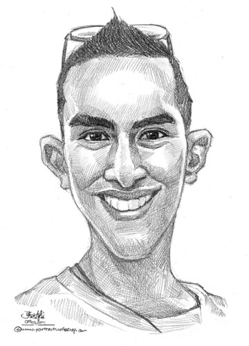 portrait in pencil 09022011