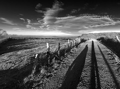 Sunrise shadows (Ahio) Tags: bw clouds sunrise nationalgeographic asic smcpentaxda1224mmf40edalif