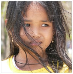 Strong wind on Kuta beach . (Franc Le Blanc) Tags: portrait bali beach girl hair indonesia lumix asia wind candid panasonic streetphoto pantai kuta