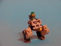 Walker (MorderczyGroszek) Tags: lego space mini walker micro mech