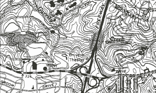 A new fault line map from the United States Geological Survey was actually drawn up in 1982, when you could go to the drive-in movies in Richmond.