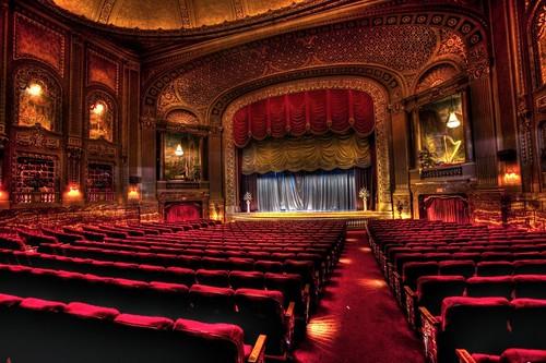 Byrd Theatre, Richmond, interior, HDR photo