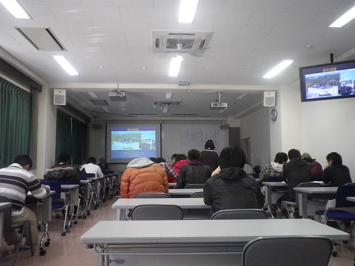 最終講義開演前